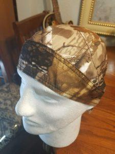 Faraday Shield Cap Biker Du-Rag RF Signal EMF Protective Safety Hat