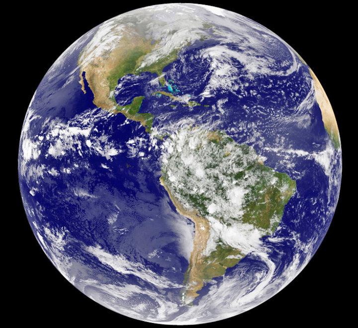 Space X Earth Globs Flat